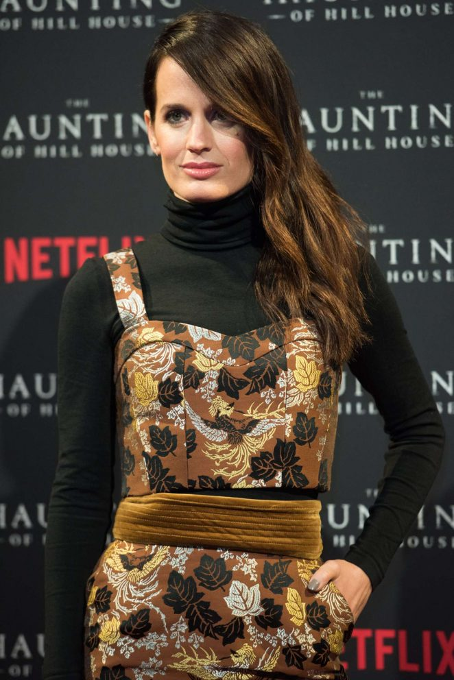 Elizabeth Reaser - 'The Haunting of Hill House' Premiere in London
