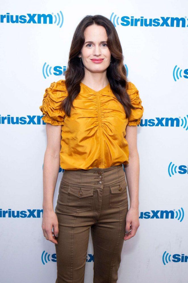 Elizabeth Reaser - Visits SiriusXM Studios in New York City