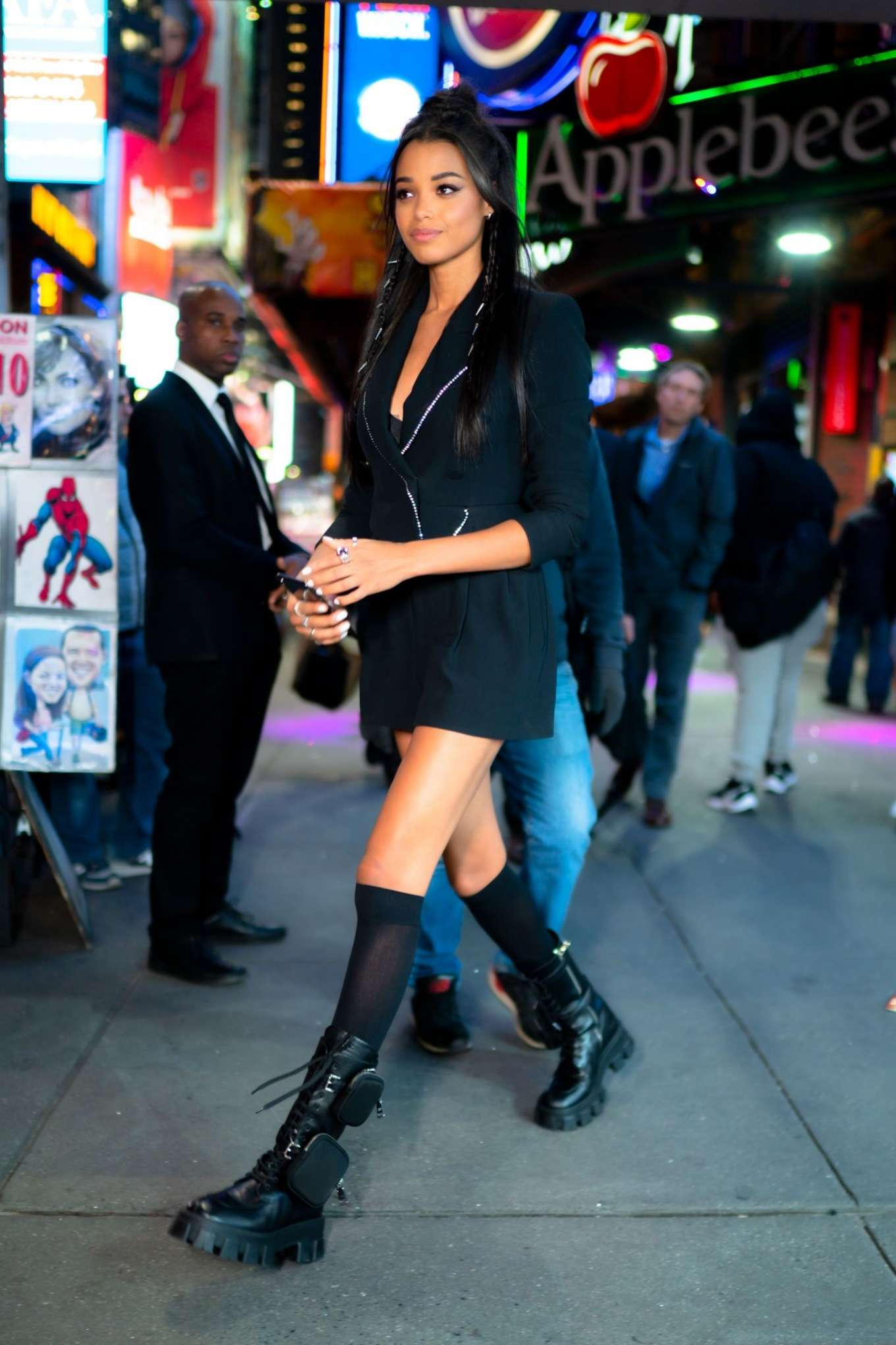 Ella Balinska - Out in New York