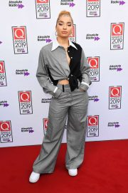 Ella Eyre - The Q Awards 2019 at The Roundhouse in London