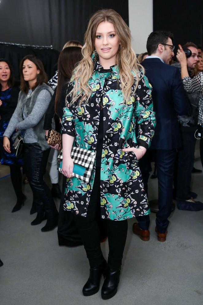 Ella Henderson - Diane Von Furstenberg Fashion Show 2015 in NYC