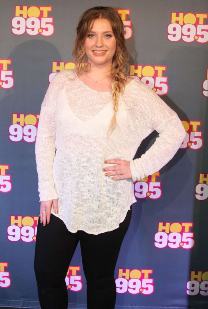 Ella Henderson - Performing Live on Hot 99.5 FM in Maryland