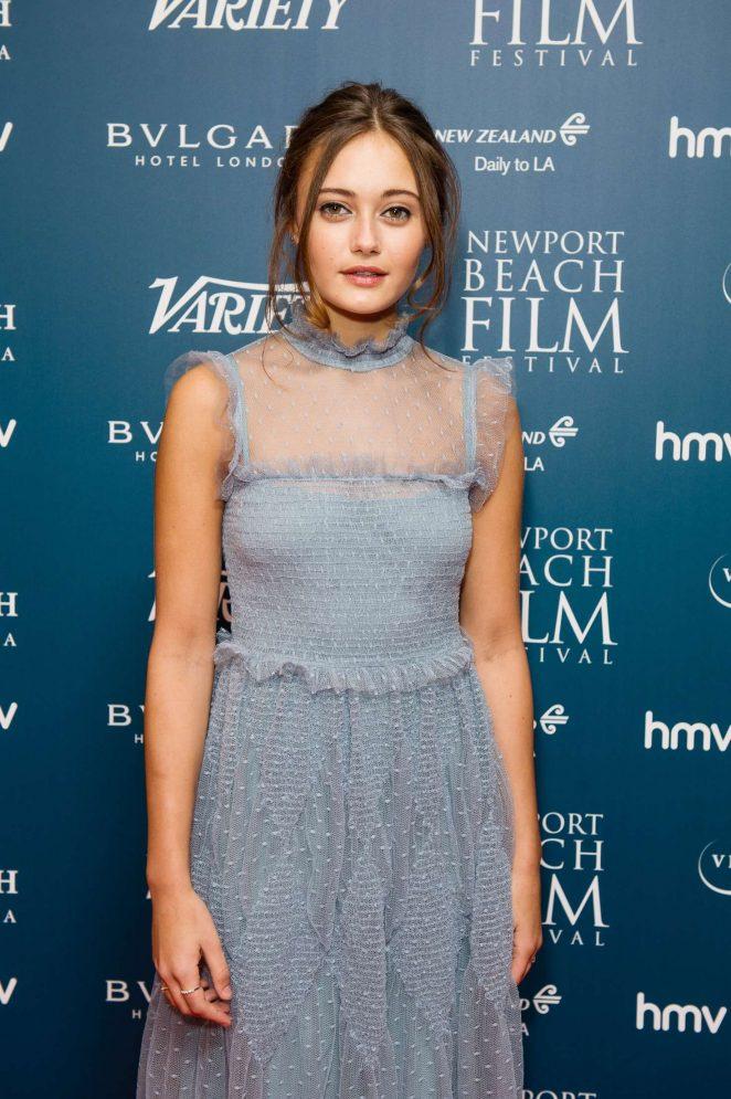 Ella Purnell - 2017 Newport Beach Film Festival Honours in London