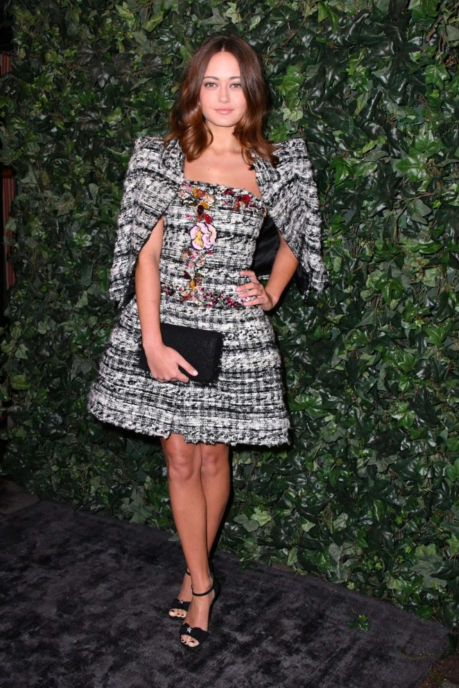 Ella Purnell – BAFTA Nespresso Nominees' Party in London
