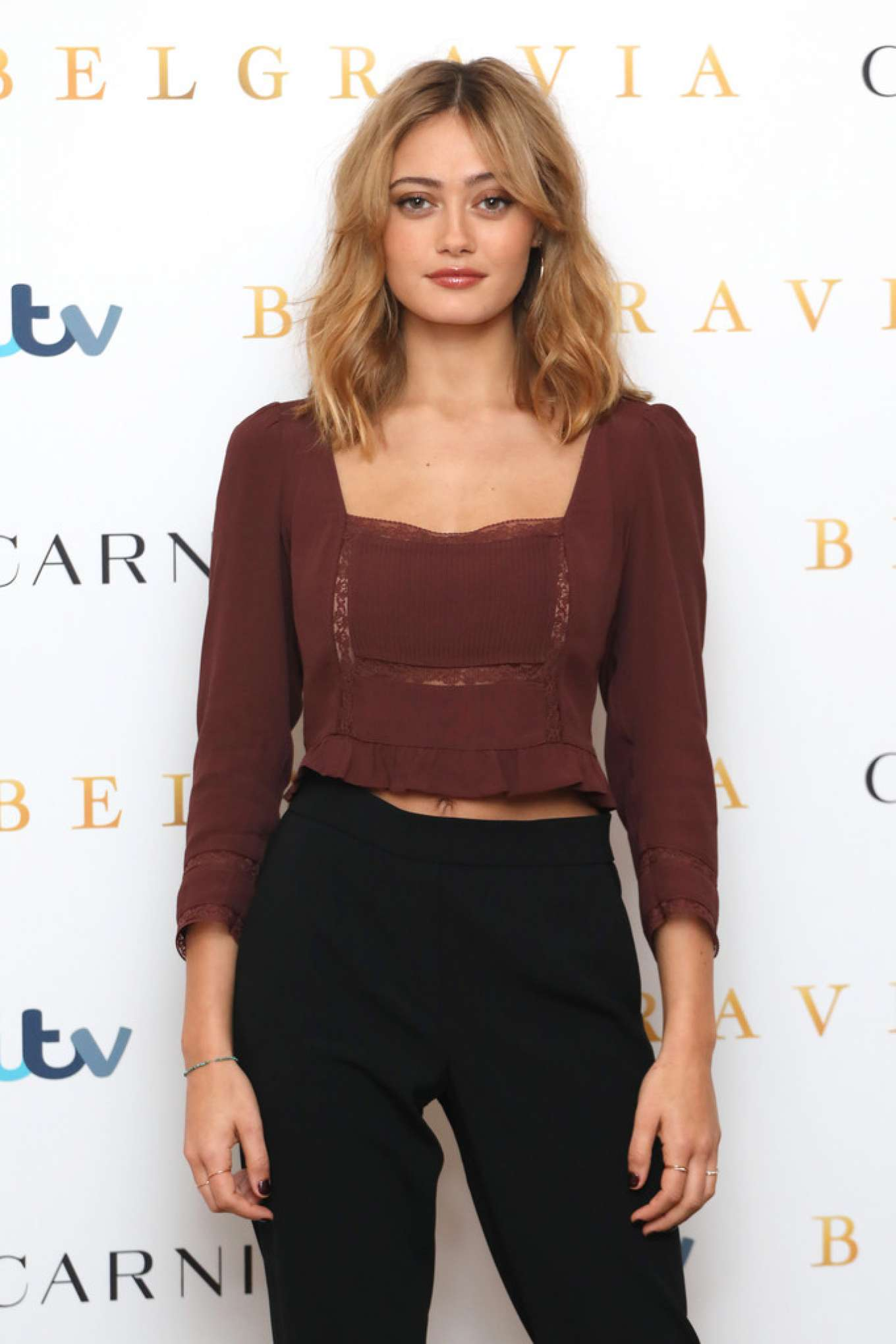 Ella Purnell - Belgravia photocall in London