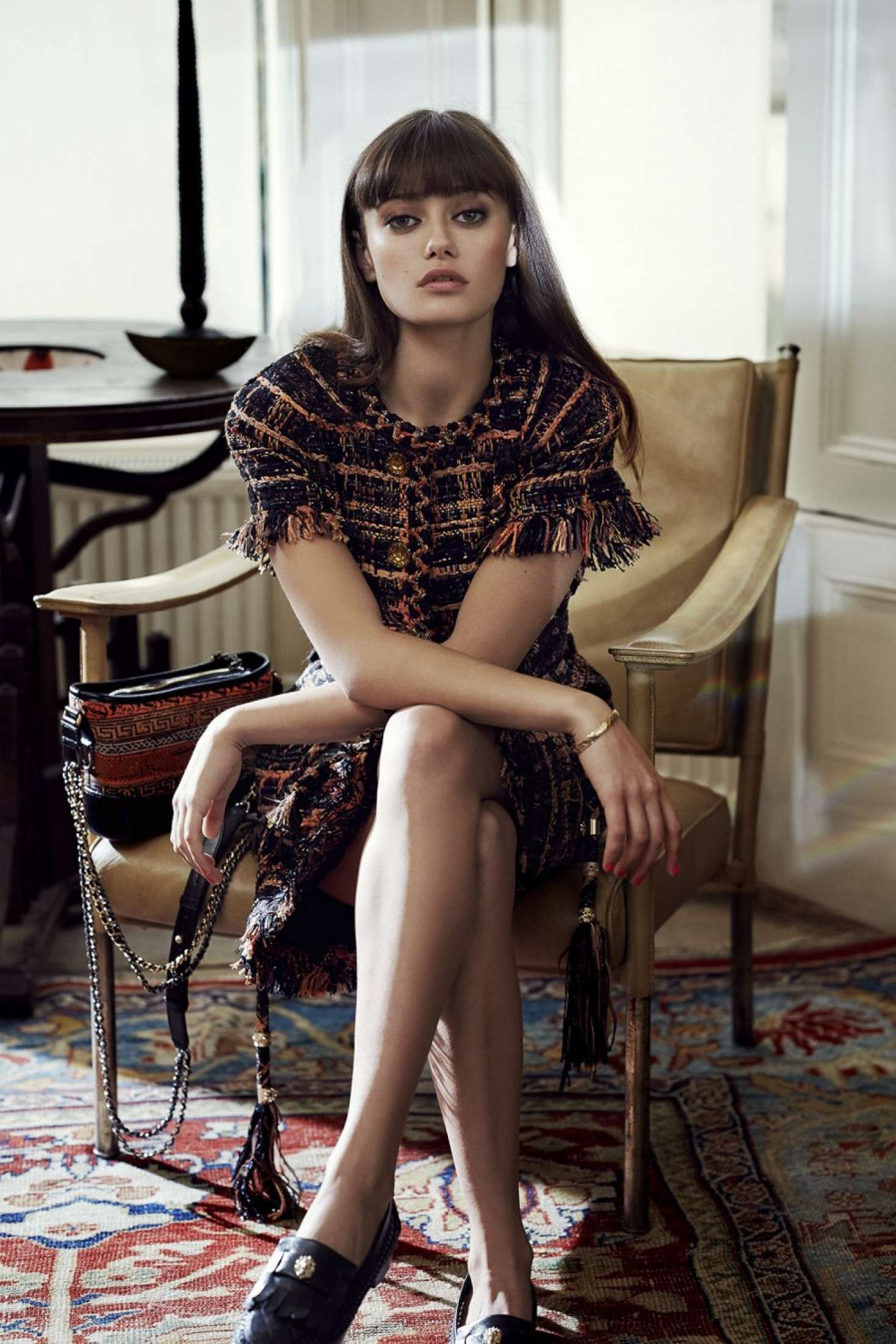 Ella Purnell Marie Claire Uk Magazine January 2018