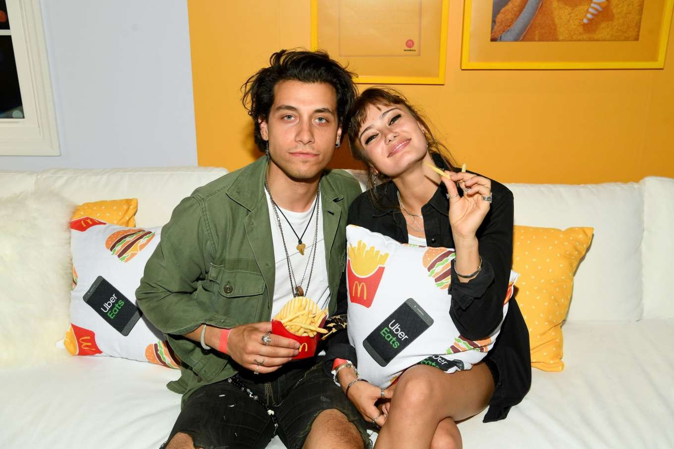 Ella Purnell - McDonald's & UberEats: McDelivery's Night In Celebration in NY