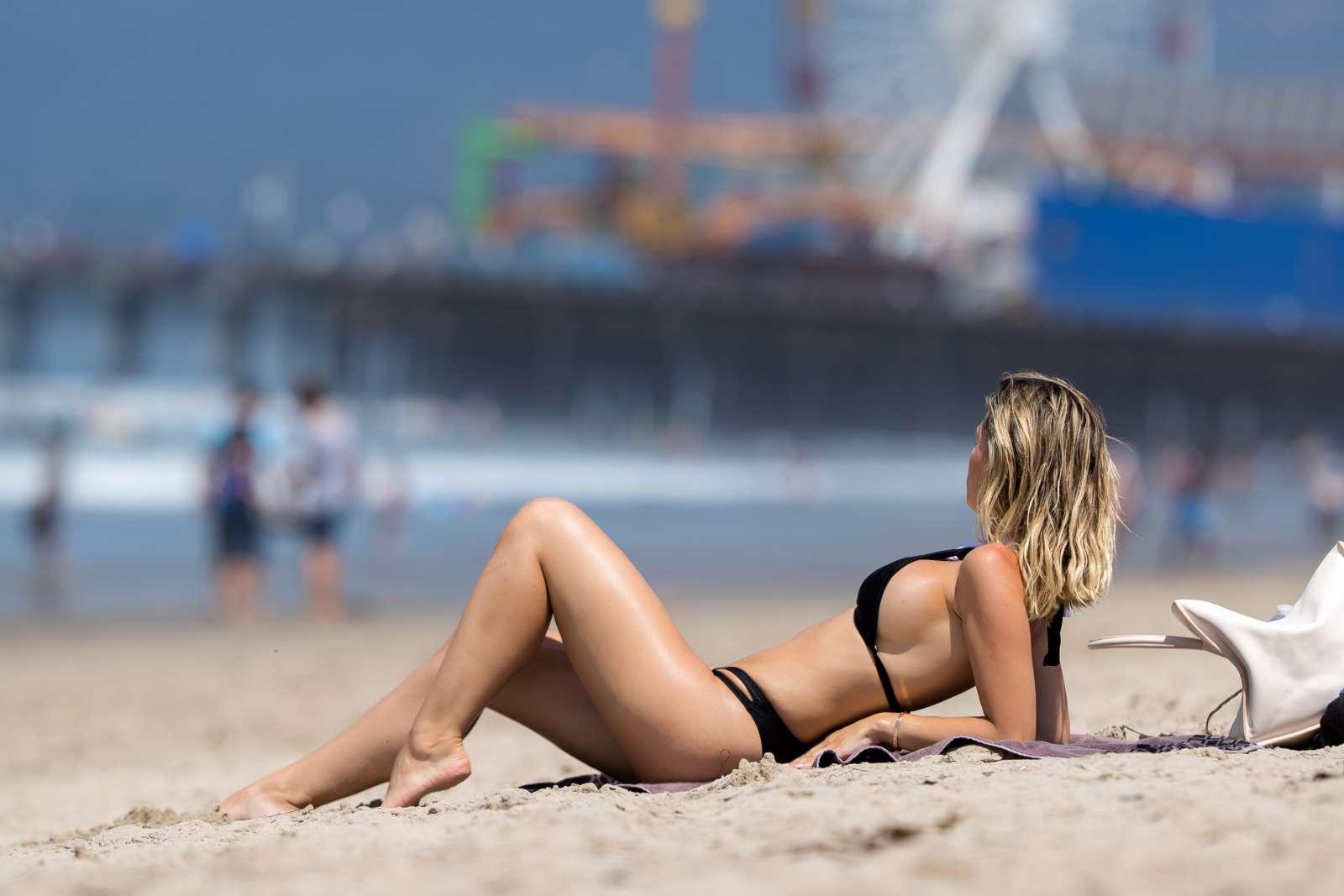 Monica white bikini sorry