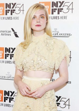 Elle Fanning - '20th Century Women' Premiere at 54th New York Film Festival in NYC