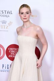 Elle Fanning - 40th London Film Critics' Circle Awards in London
