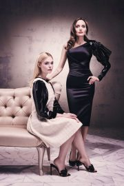 Elle Fanning and Angelina Jolie - People.com Photoshoot (October 2019)