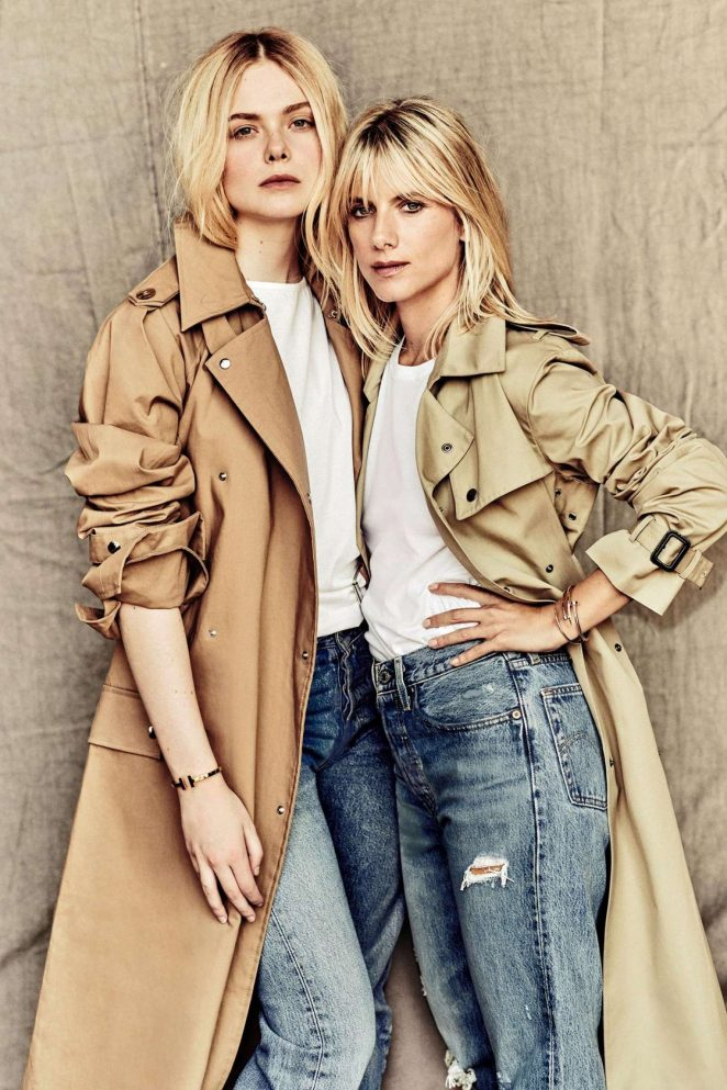 Elle Fanning and Melanie Laurent - Madame Figaro Magazine (October 2018)