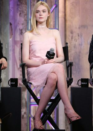 Elle Fanning - AOL Build Speaker Series 'The Neon Demon' in New York City