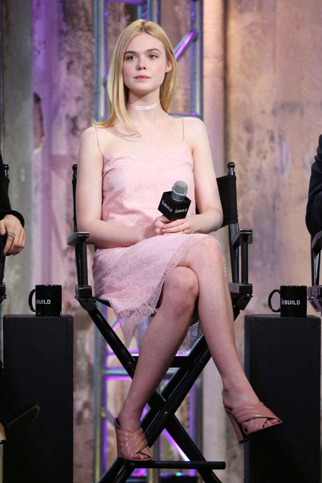 Elle Fanning - AOL Build Speaker Series 'The Neon Demon' in New York City