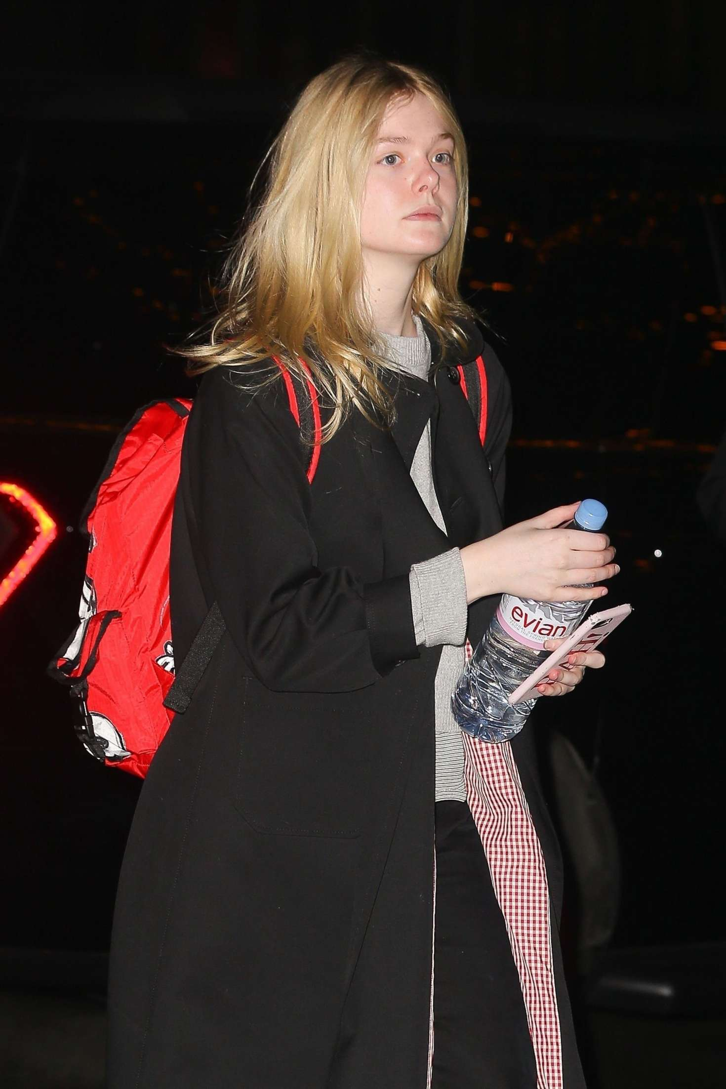 Elle Fanning – Arriving at the Bowery Hotel in NYC