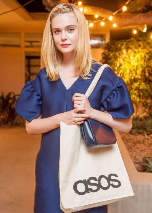 Elle Fanning - ASOS Dinner and unveiling of the 2016 Holiday Collections in Beverly Hills