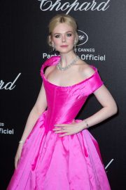 Elle Fanning - Chopard Party at 2019 Cannes Film Festival