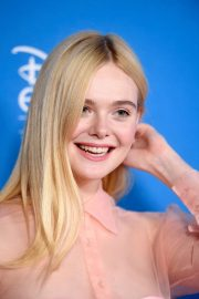 Elle Fanning - D23 Disney Expo in Anaheim - California