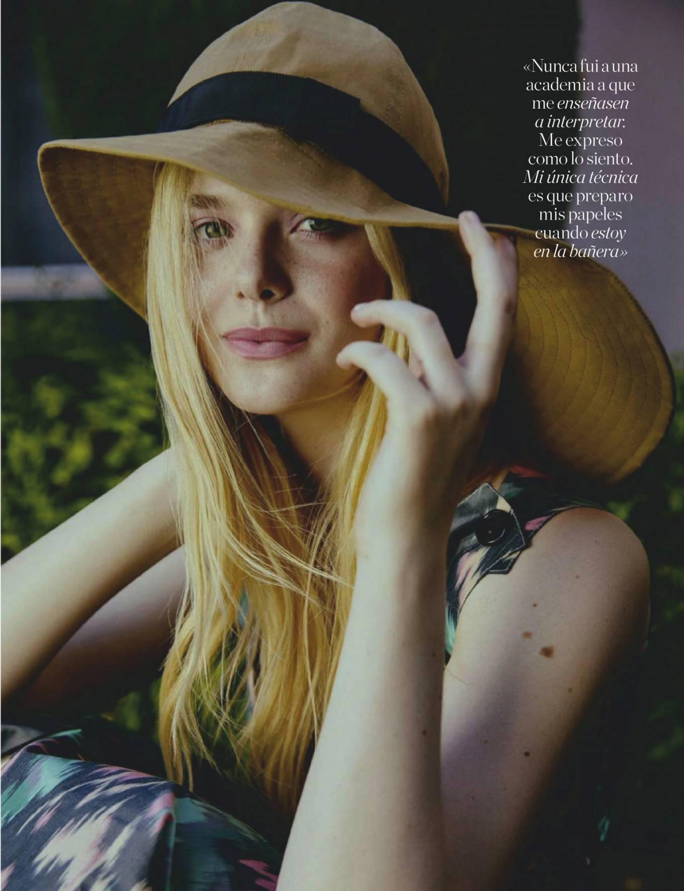 Elle Fanning - Elle Espana Magazine (June 2020)