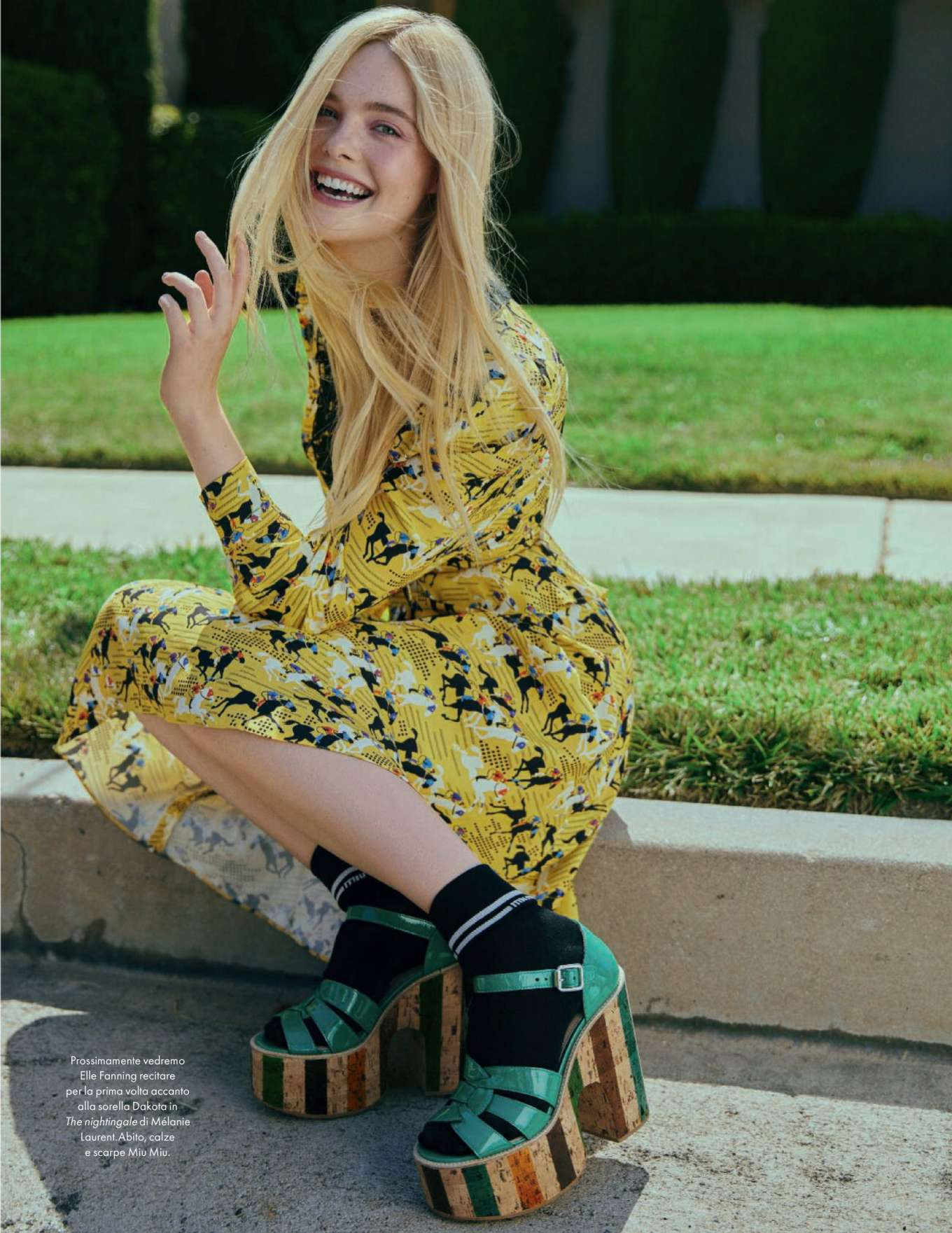 Elle Fanning - Elle Magazine (Italia - February 2020)