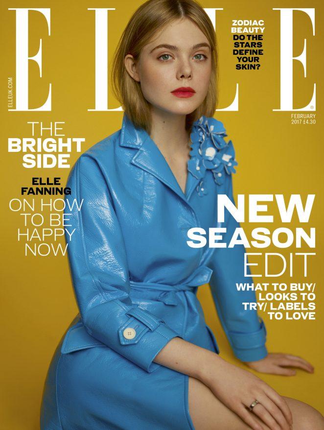 Elle Fanning - ELLE UK Magaizine (February 2017)