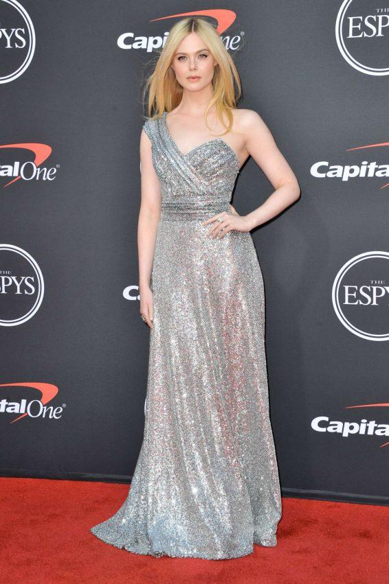 Elle Fanning 2019 : Elle Fanning – ESPYS 2019 Awards-03