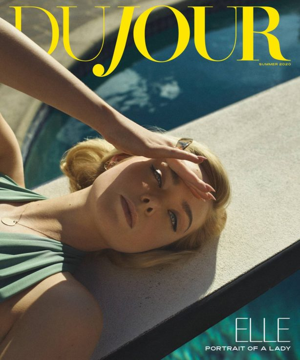 Elle Fanning for DuJour Cover Magazine (Summer 2020)