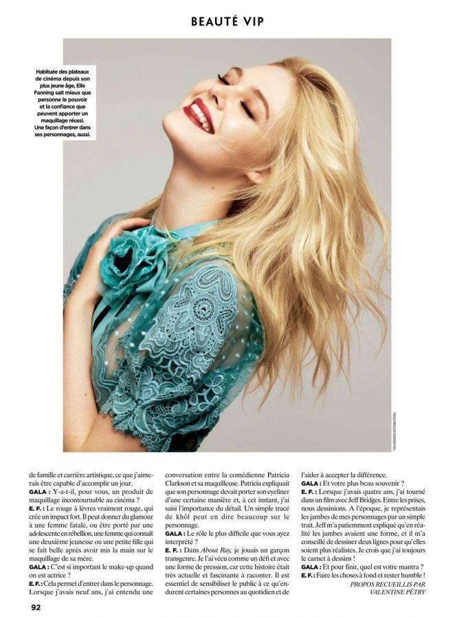 Elle Fanning - Gala France Magazine (May 2018)