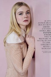 Elle Fanning - Glamour Italy Magazine (October 2019)
