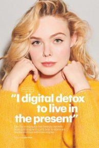 Elle Fanning - Glamour Magazine (UK - March 2020 issue)