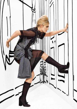 Elle Fanning - Harper's Bazaar Magazine (March 2019)