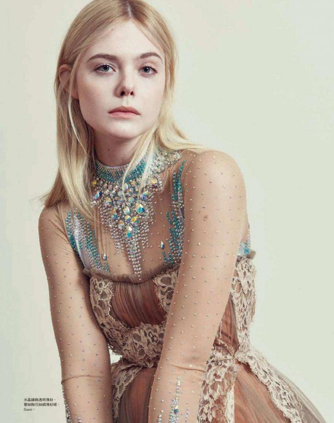 Elle Fanning - Harper's Bazaar Taiwan (July 2018)