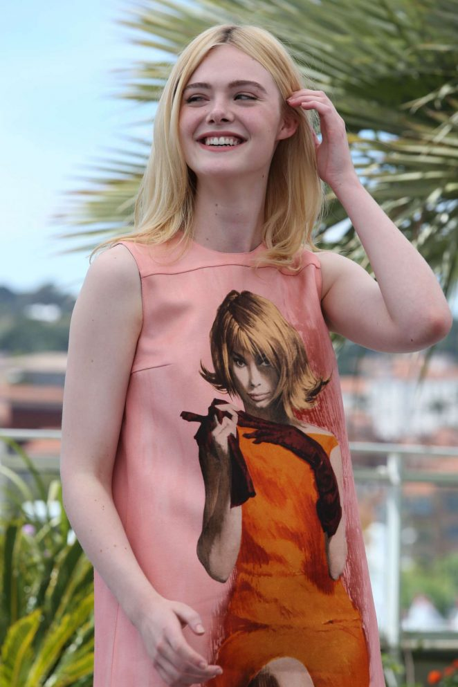 Elle Fanning – 'How to Talk to Girls at Parties' Photocall at 70th Cannes Film Festival