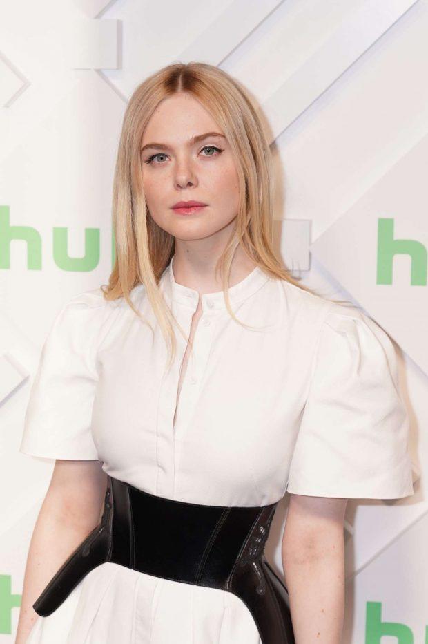 Elle Fanning: Hulu 2019 Upfront Presentation -02