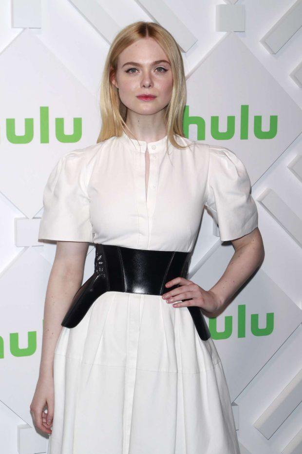 Elle Fanning - Hulu 2019 Upfront Presentation in New York