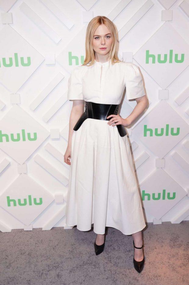 Elle Fanning: Hulu 2019 Upfront Presentation -16