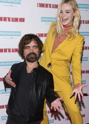 Elle Fanning - 'I Think We're Alone Now' Screening in NYC