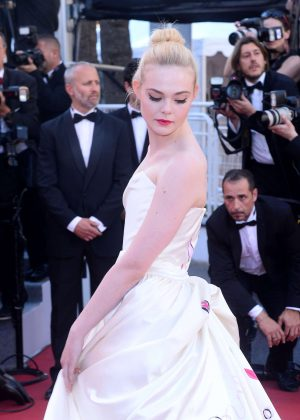 Elle Fanning - 'Ismael's Ghosts' Screening at 70th Annual Cannes Film Festival in France