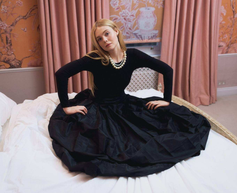 Elle Fanning 2021 : Elle Fanning, Kirsten Dunst and Rashida Jones – W Magazine (March 2021)-06