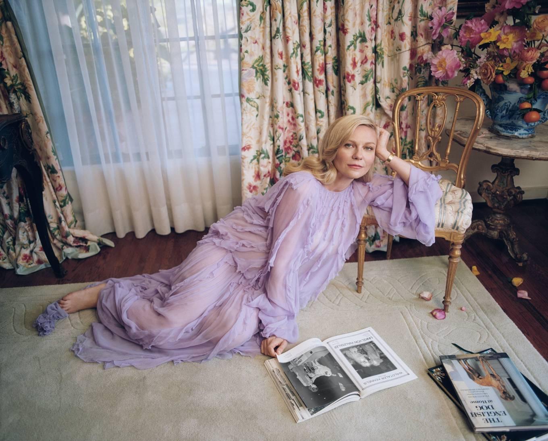 Elle Fanning 2021 : Elle Fanning, Kirsten Dunst and Rashida Jones – W Magazine (March 2021)-12