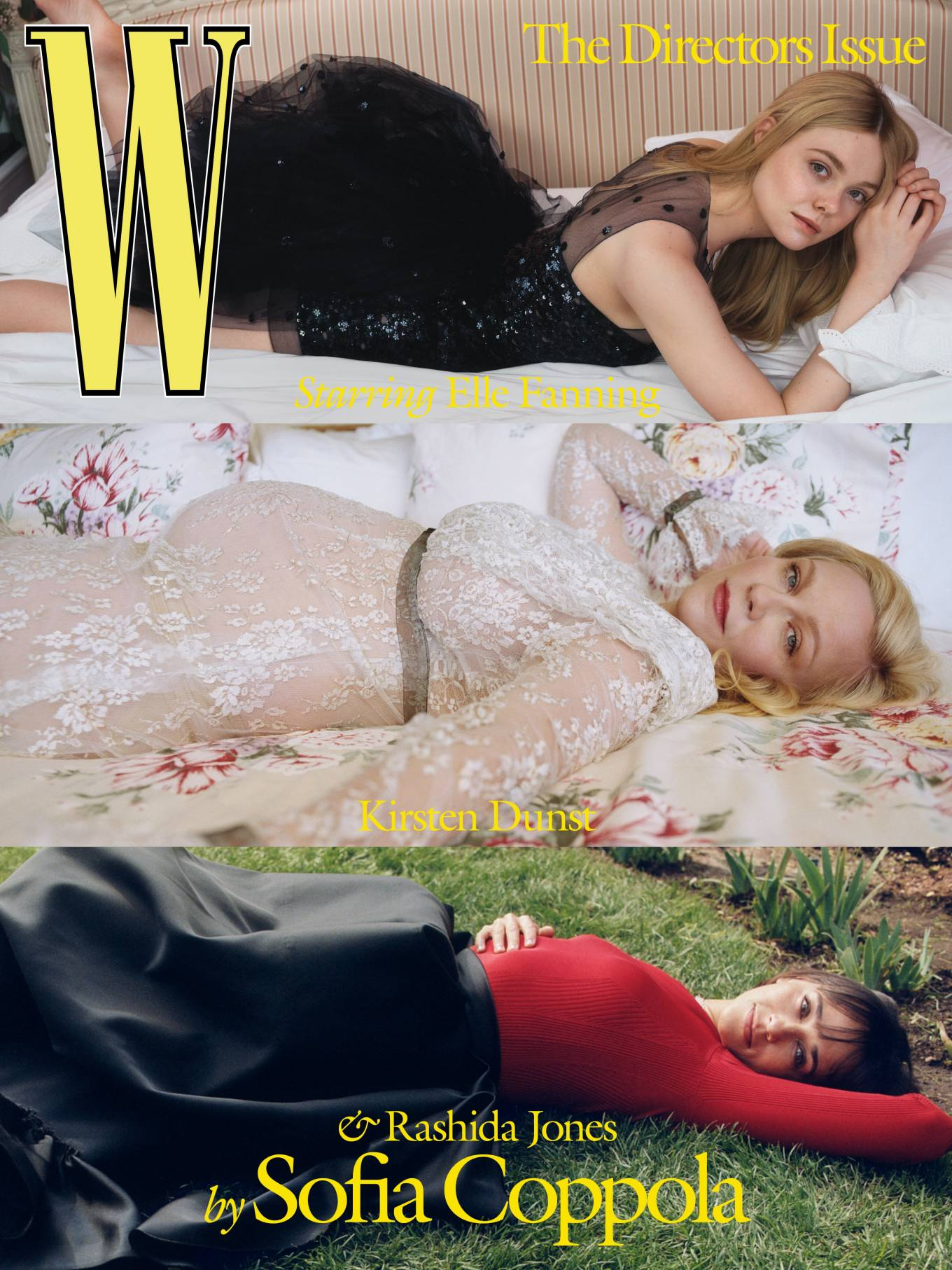 Elle Fanning, Kirsten Dunst and Rashida Jones - W Magazine (March 2021)