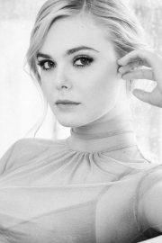Elle Fanning - L'Oreal Paris Campaign 2019