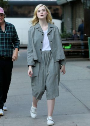 Elle Fanning Leaves the Woody Allen Untitled Amazon Project set in NY