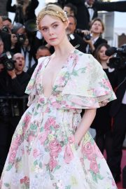 Elle Fanning - 'Les Miserables' Screening at 2019 Cannes Film Festival in Cannes