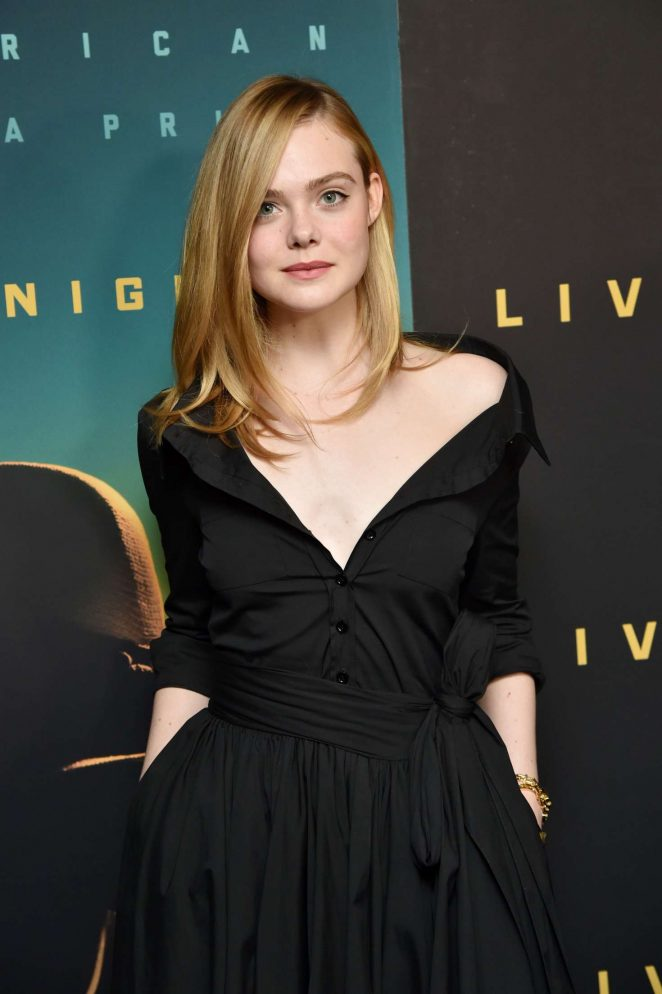 Elle Fanning - 'Live by Night' Screening in New York