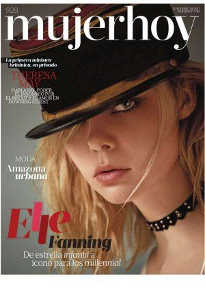 Elle Fanning - Mujer Hoy Magazine (January 2017)