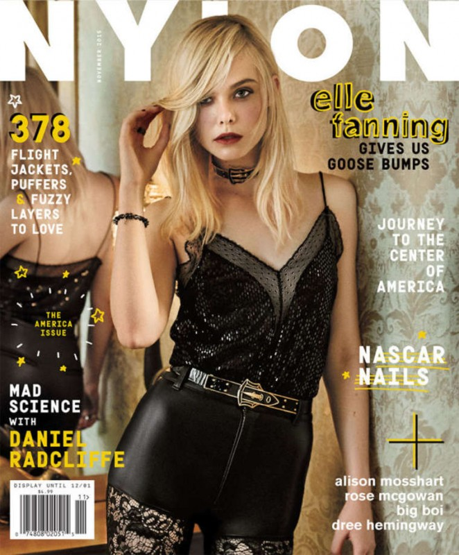 Elle Fanning - Nylon Magazine (November 2015)