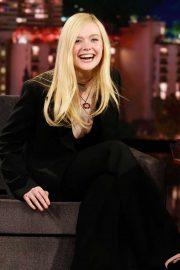 Elle Fanning - On Jimmy Kimmel Live! in LA