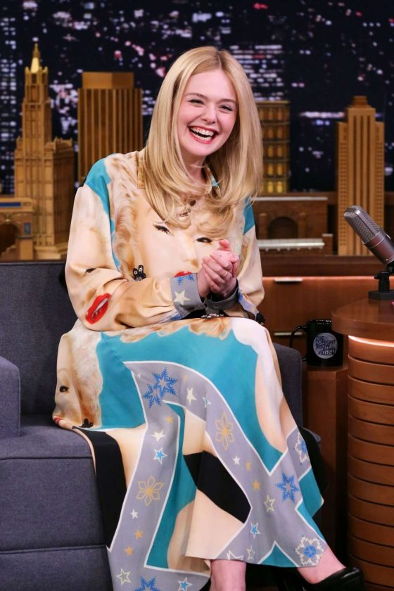 Elle Fanning - On 'The Tonight Show Starring Jimmy Fallon' in NYC