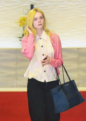 Elle Fanning Out and about in Los Angeles